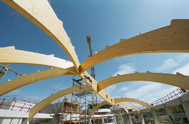 Fabricant De Structures En Bois Lamell Coll Et Charpentes